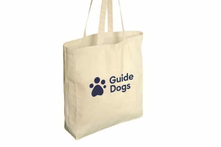 Guide Dogs Tote Bag
