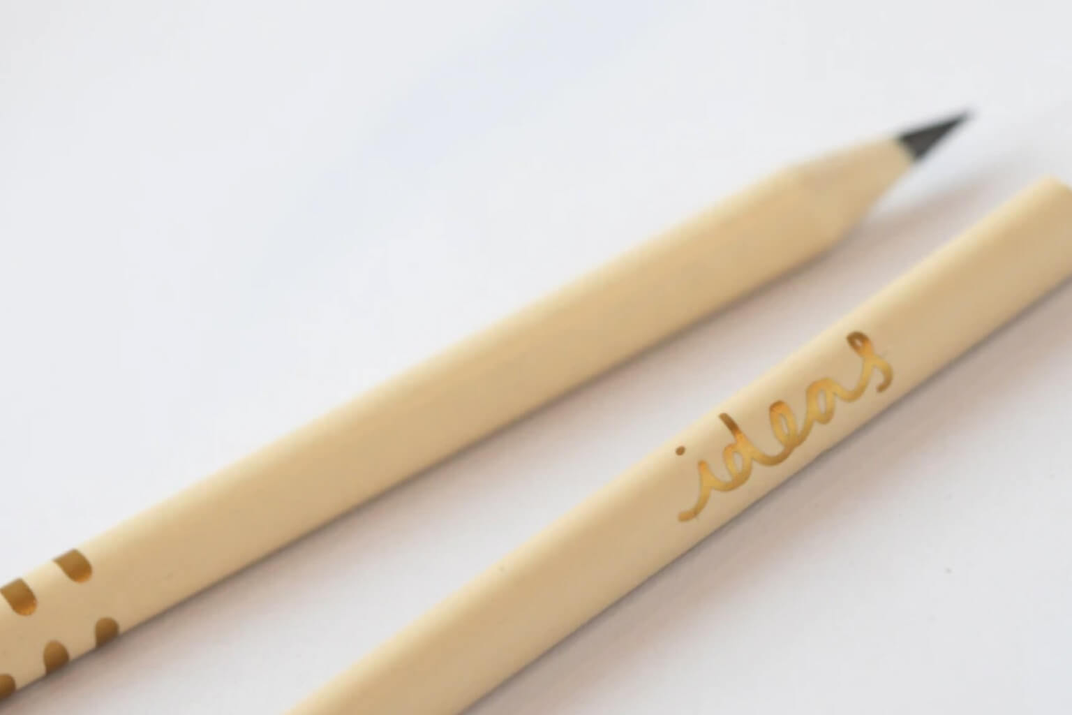 Recycled Buttermilk Pencils